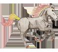Friesian Horse ##STADE## - coat 1000000115